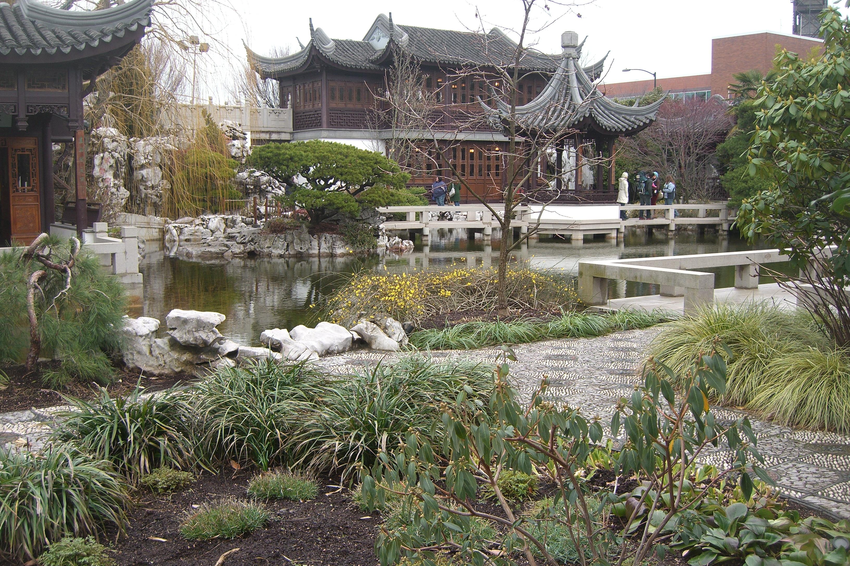 the garden - Lan Su Chinese Garden