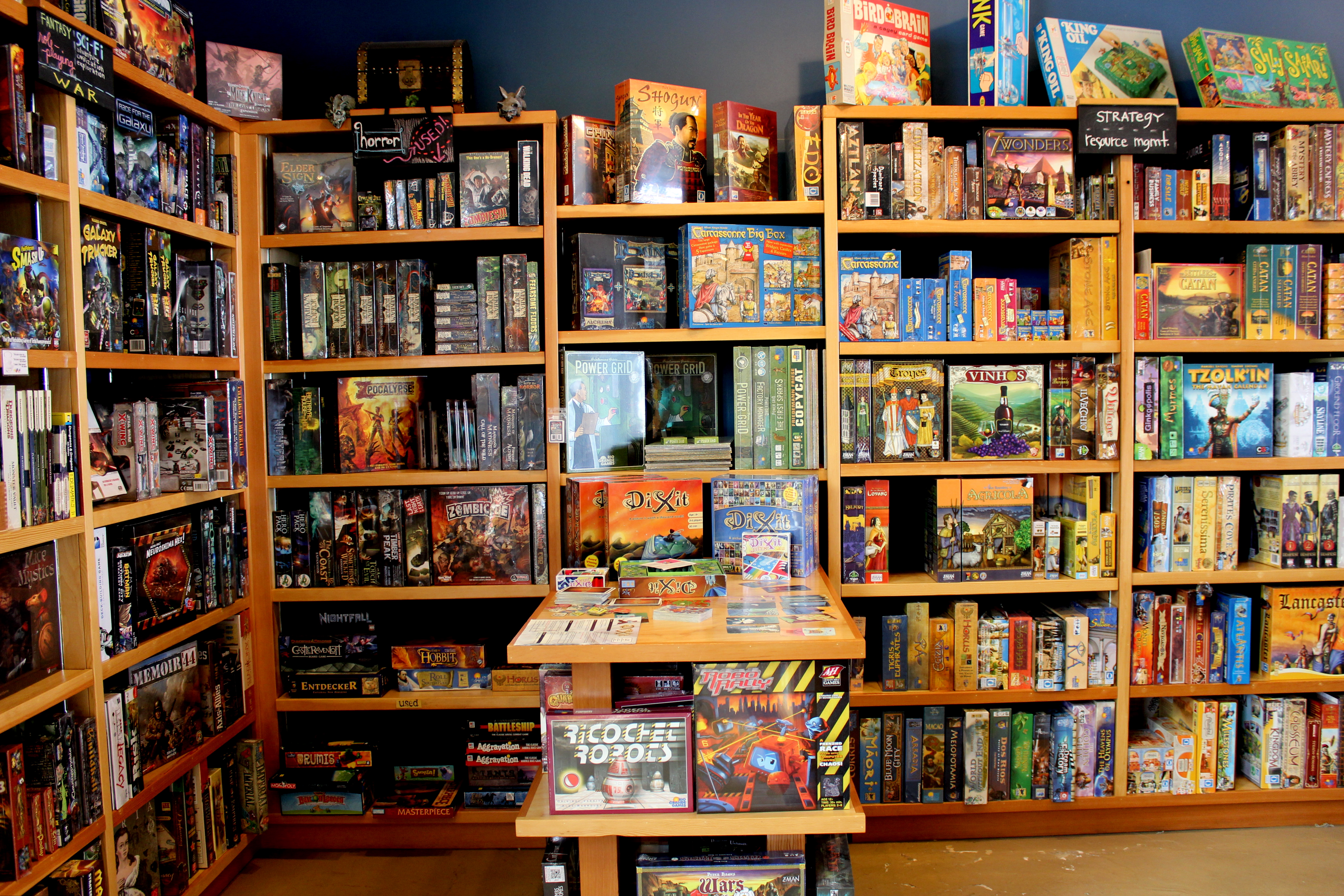 ... Closet That Looks Just Like This One In The Movie, So We Buy As Many  Games As Possible, And Most Of The Time, Theyu0027re From Cloud Cap Games In  Sellwood.