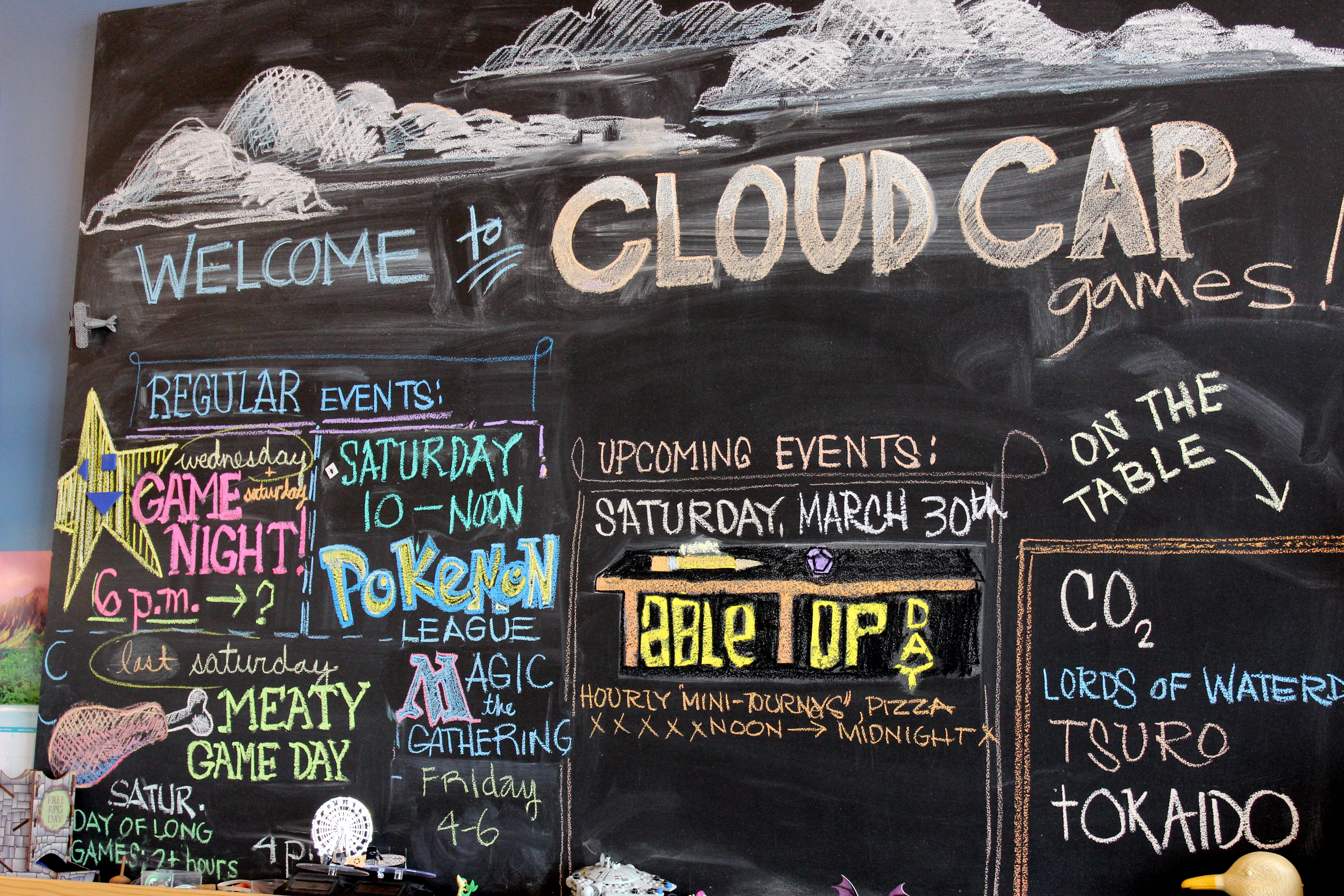 Cloud Cap Games | Kristi Does PDX: Adventures in Portland, OR