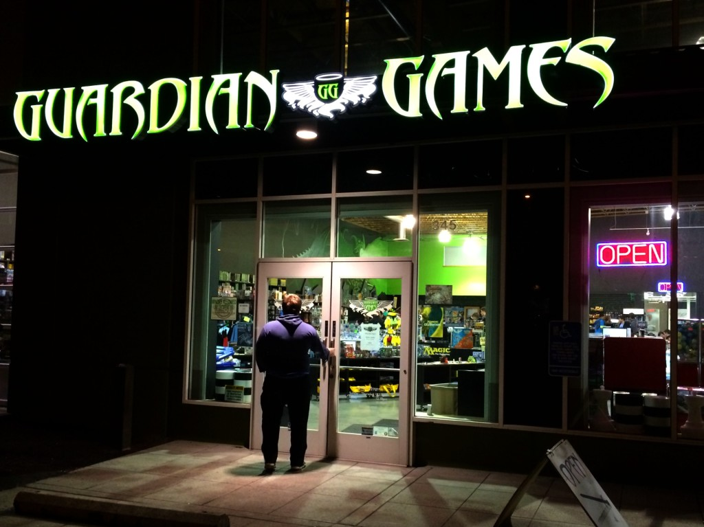 guardian games entrance