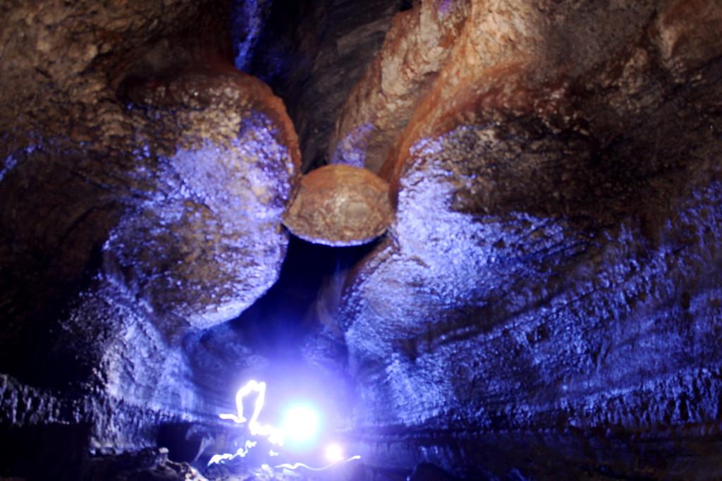 Ape Cave Lower Boulder