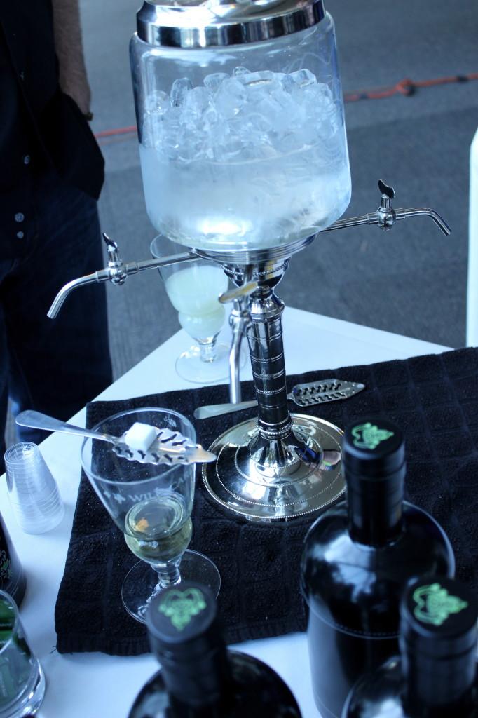 Toast 2014 absinthe service