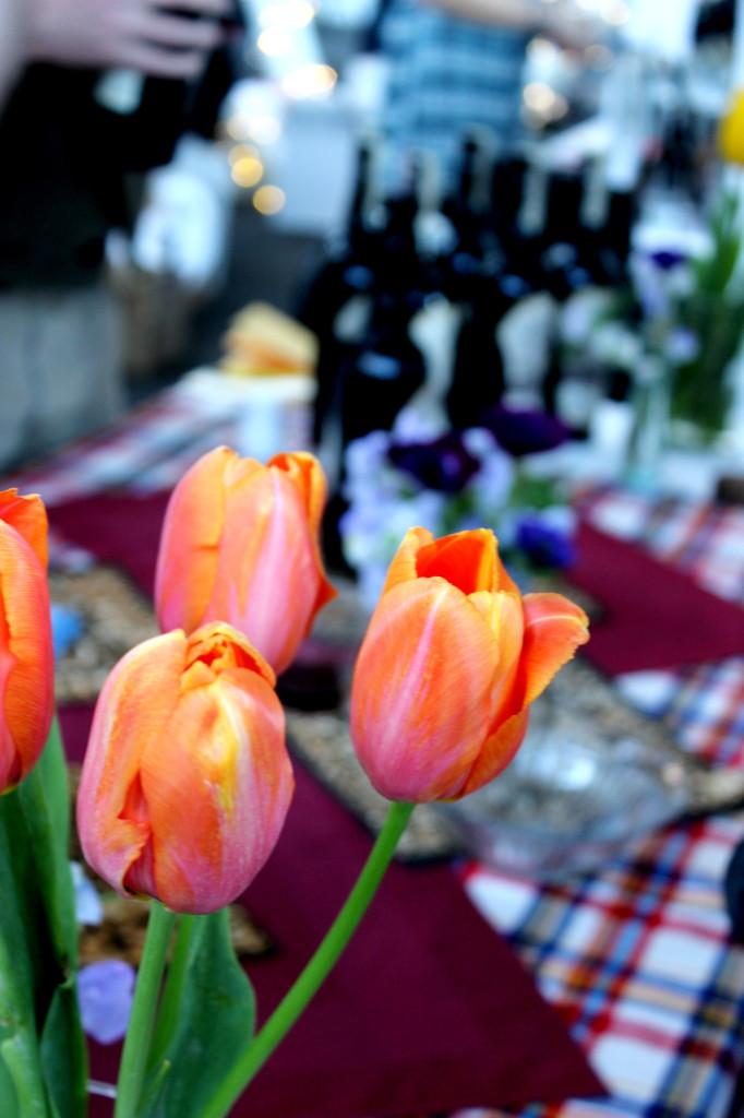 Toast 2014 tulips