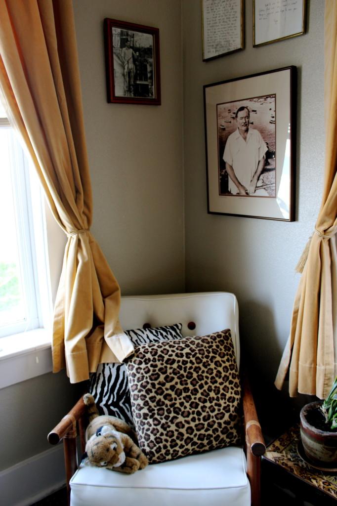 Sylvia Beach Hemingway Chair