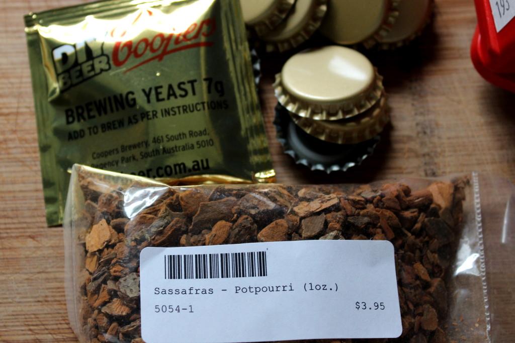 root beer ingredients