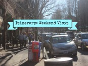 Weekend Itinerary Cover