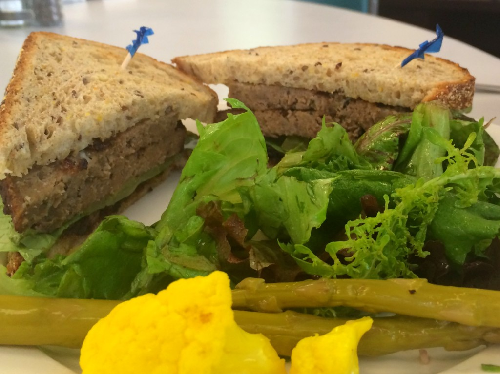 dime store meatloaf sandwich