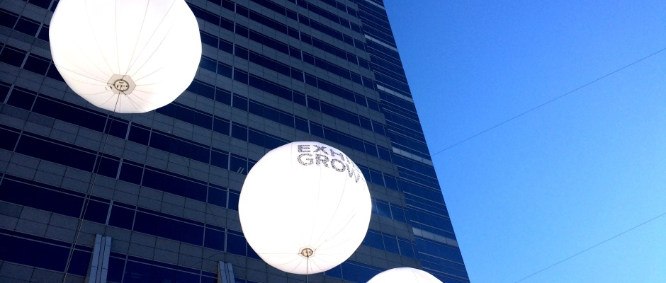 exhibit growth balloons