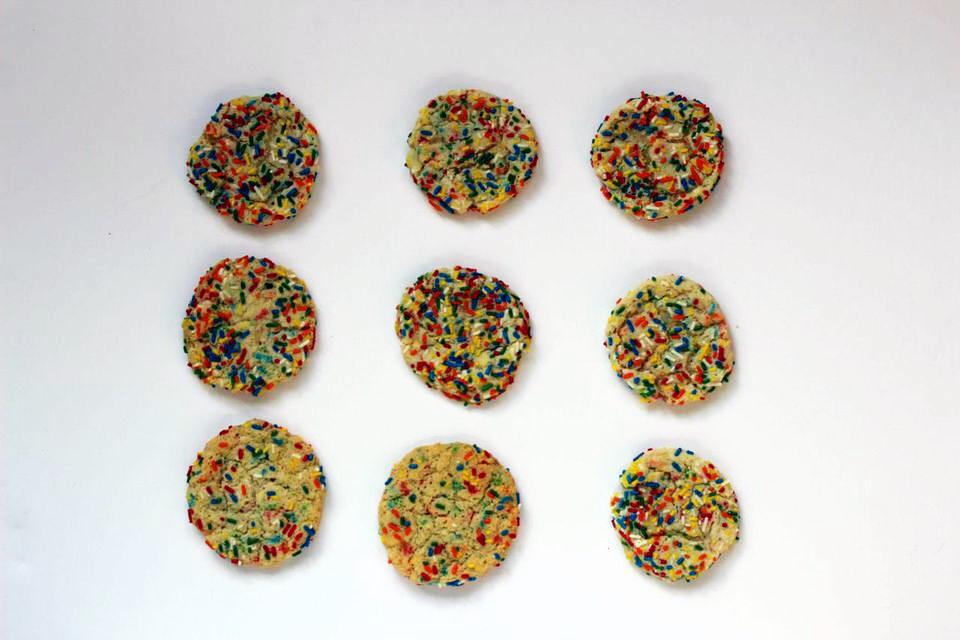 Confetti cookie 9a