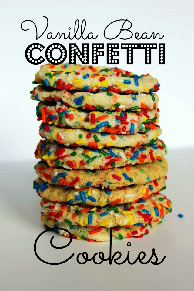 Confetti cookie pin