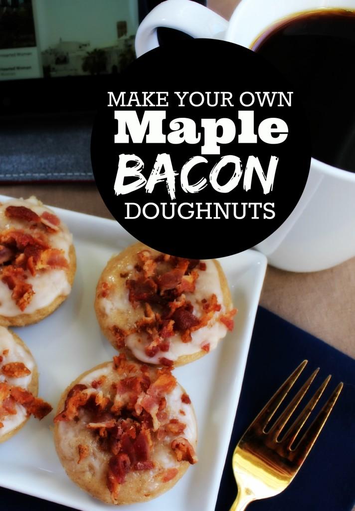 Portland Plates: Make your own Maple Bacon Doughnuts