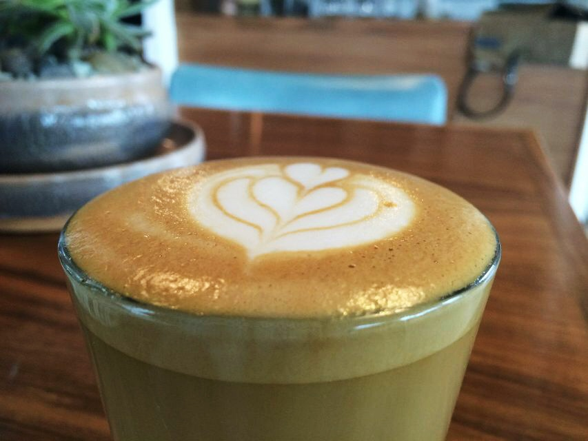 Good coffee cortado