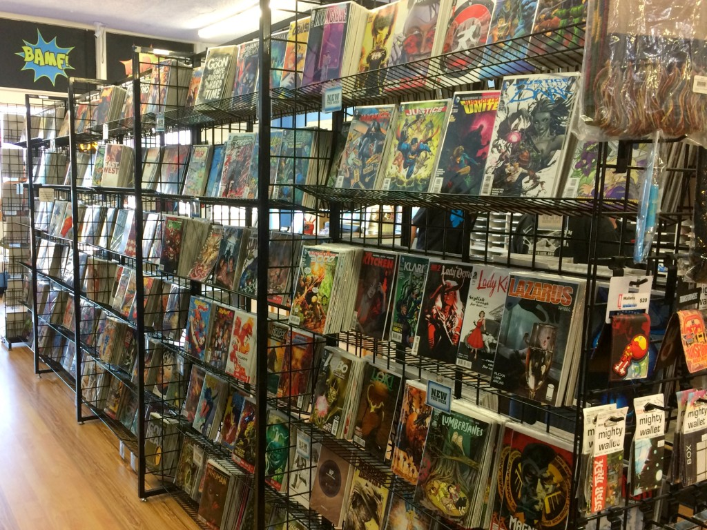 i love comics interior