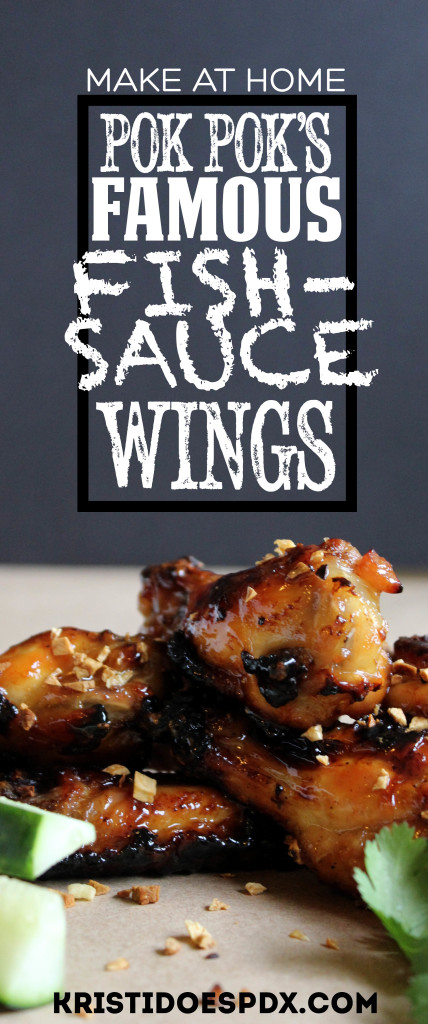 Make Pok Pok Wings at home
