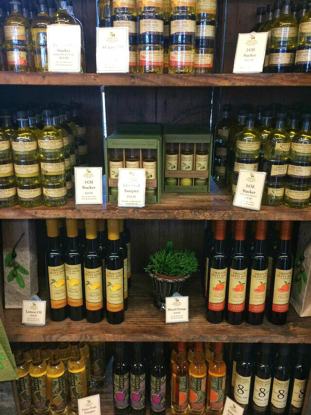 Olive oil shelved
