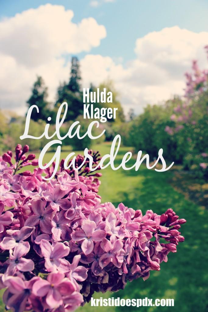 Spring time must-see Hulda Klager Lilac Garden