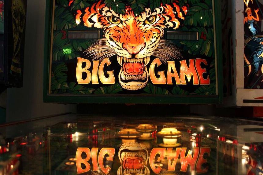 Pinball outreach big game