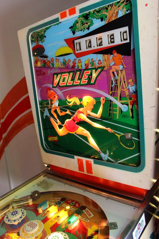 Pinball outreach volley