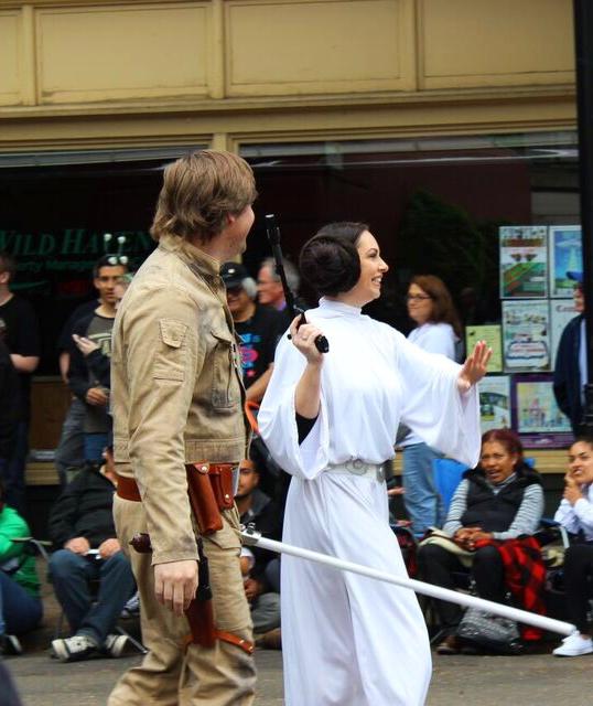 Ufo fest Luke and leia