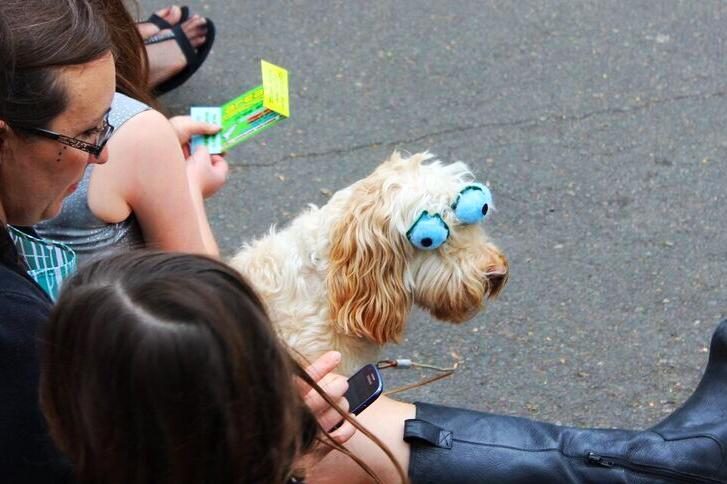 Ufofest  3 eyeball dog