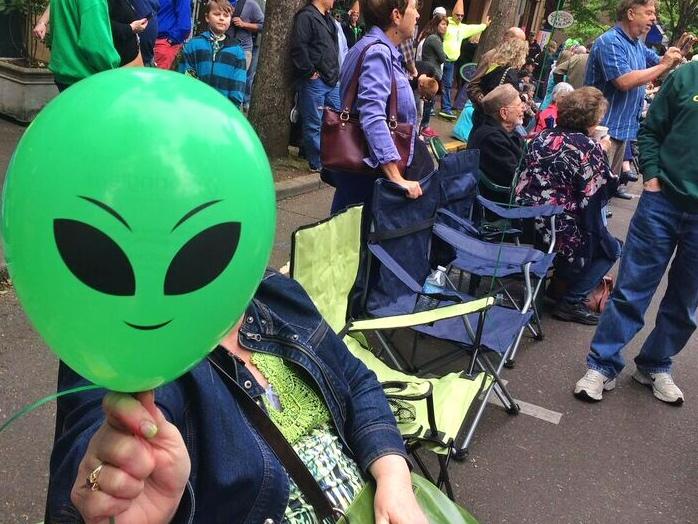 Ufofest balloon
