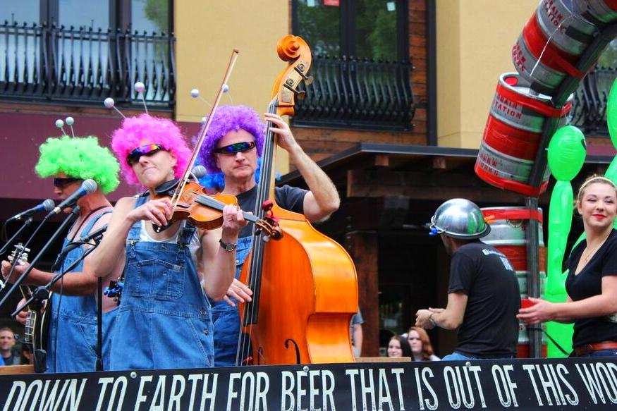 Ufofest beer band
