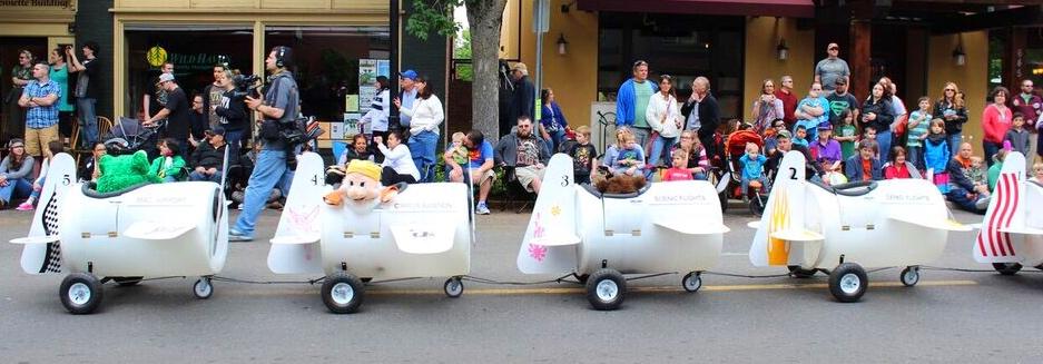 Ufofest kids train