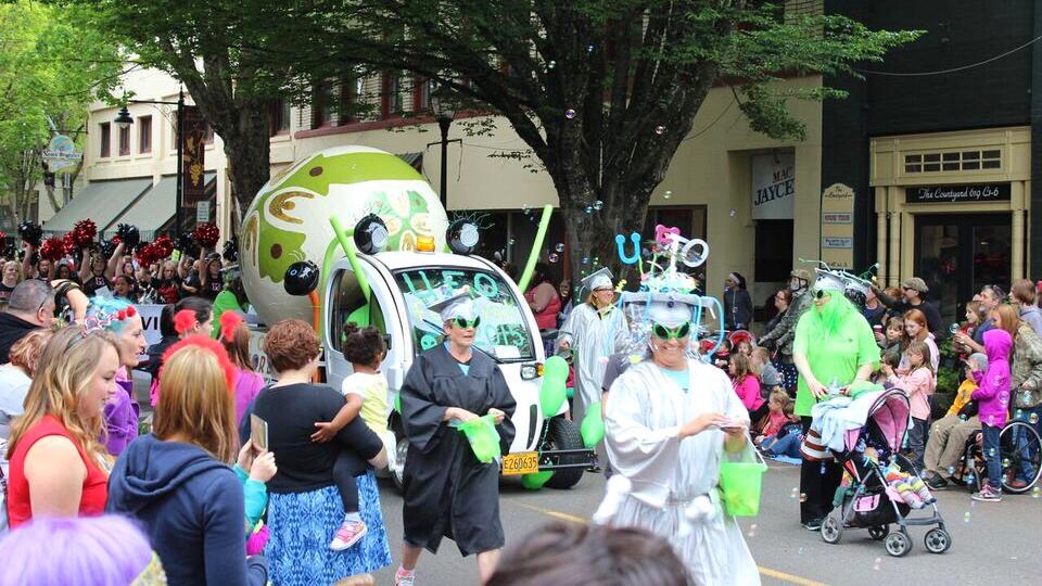 Ufofest parade