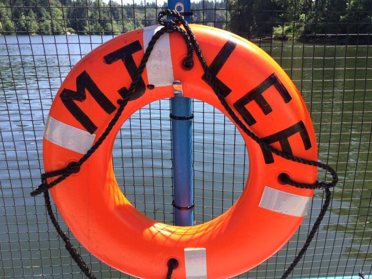 Canby ferry life preserver