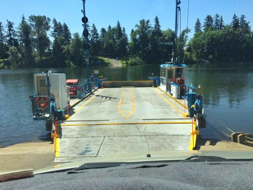 Candy ferry boarding