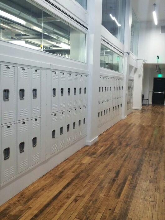 PNCA lockers