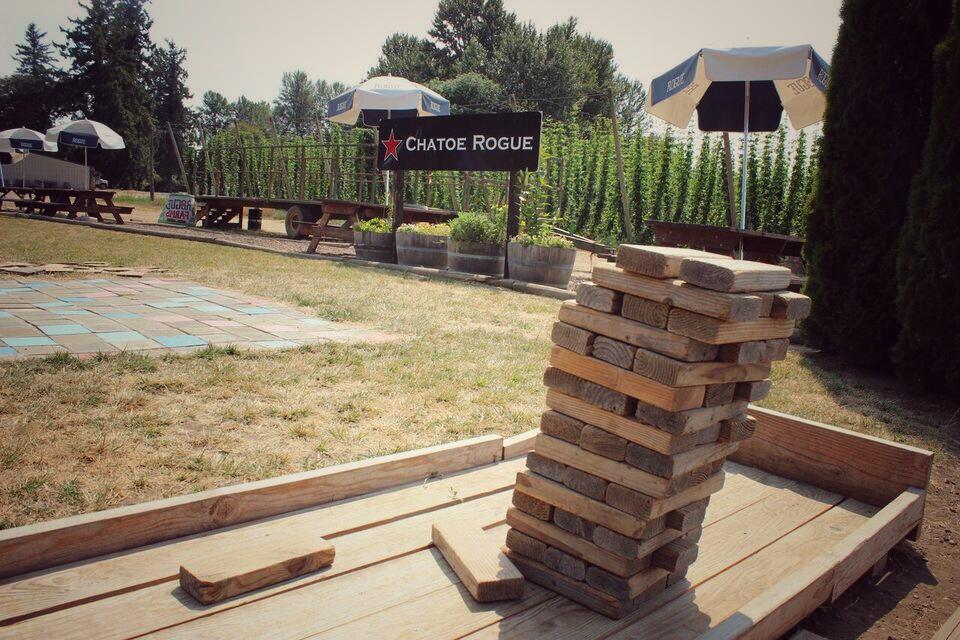 Rogue farm lawn games