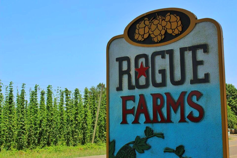 Rogue farms sign