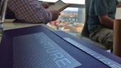 Departure menu and view