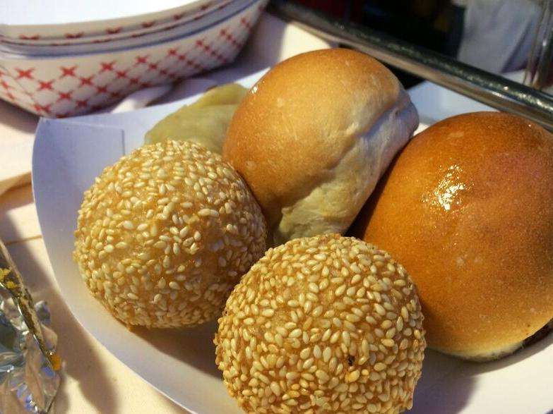 Jade market sesame balls