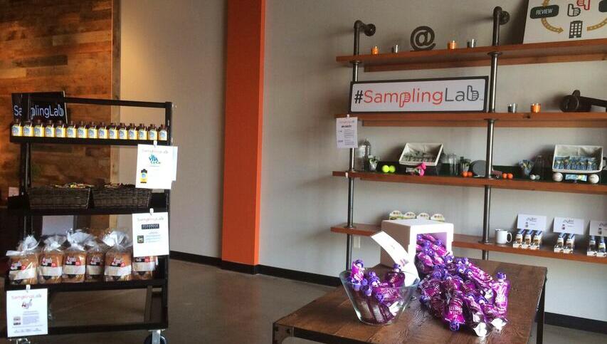 Sampling lab lobby