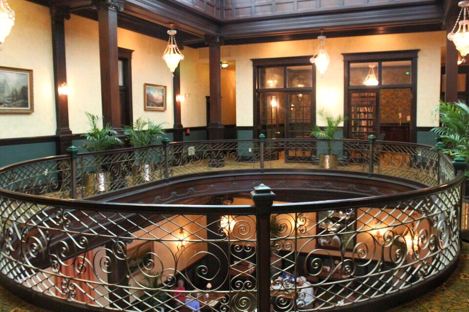 Geiser Grand balcony