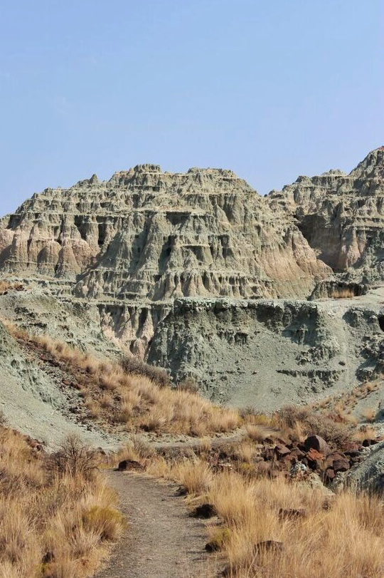John day fossil beds valley
