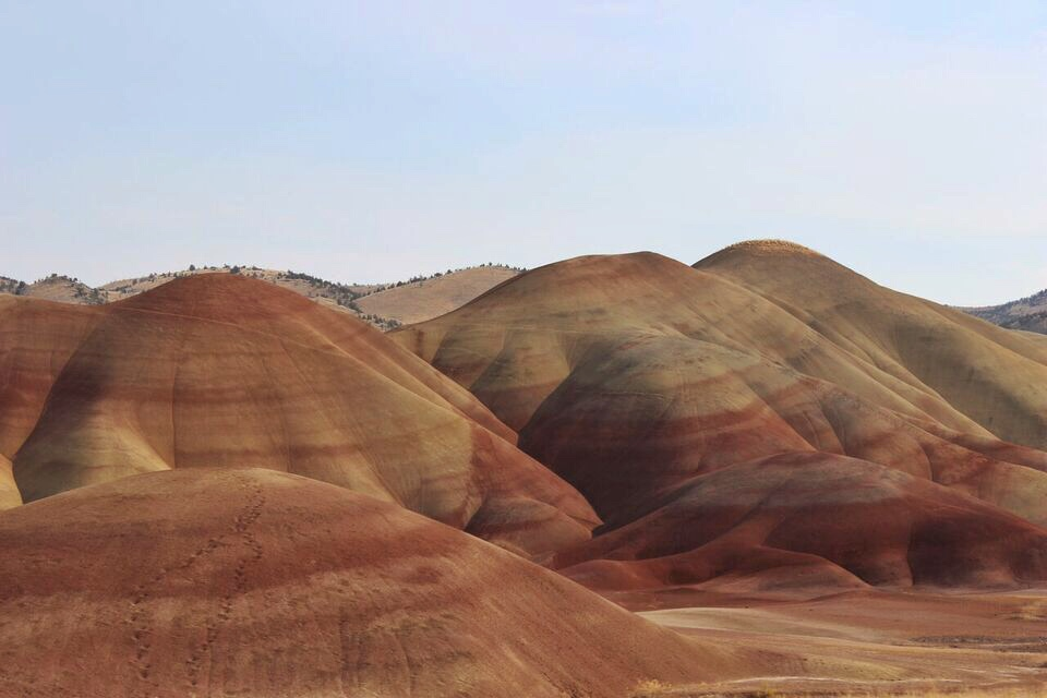 Painted Hills Entrance