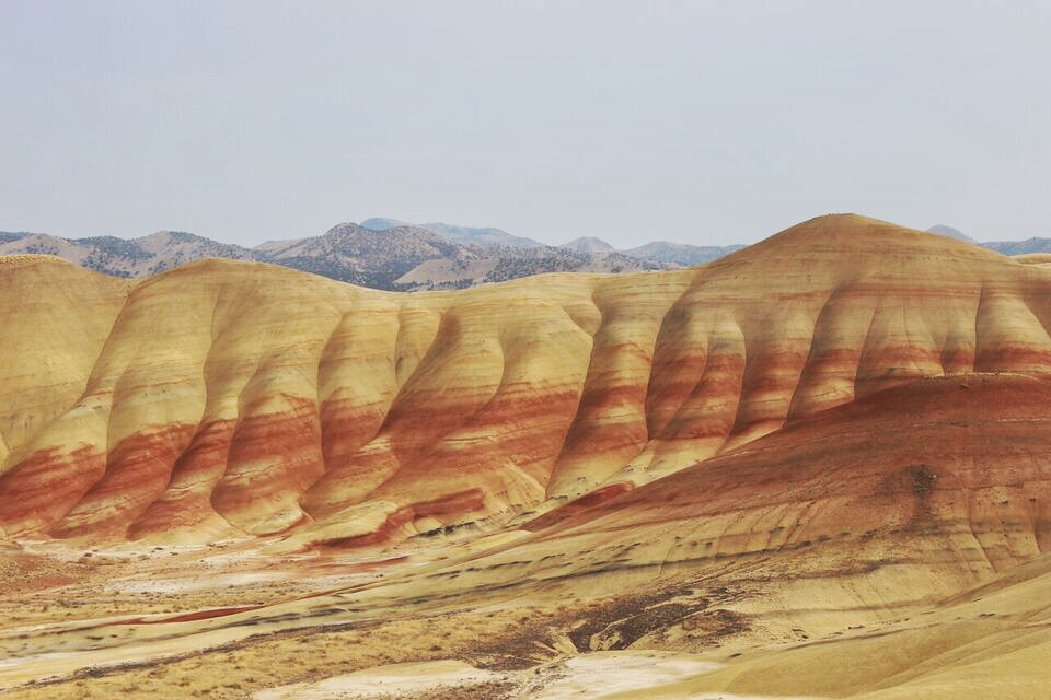 Painted Hills lines