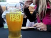 Sandwich invitational beer glass