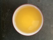 Caffeine crawl tea sample