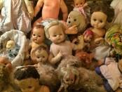 Doll asylum crib