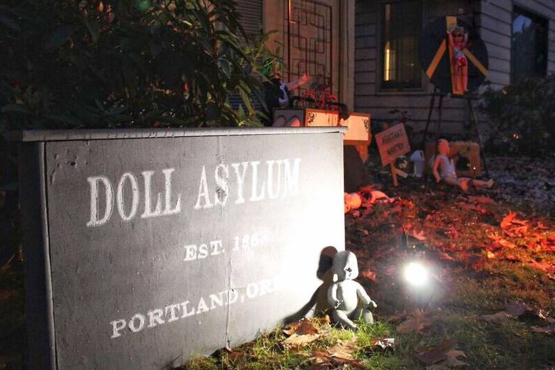 Doll asylum entrance