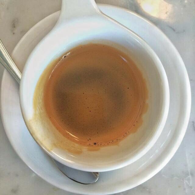 Good coffee espresso shot