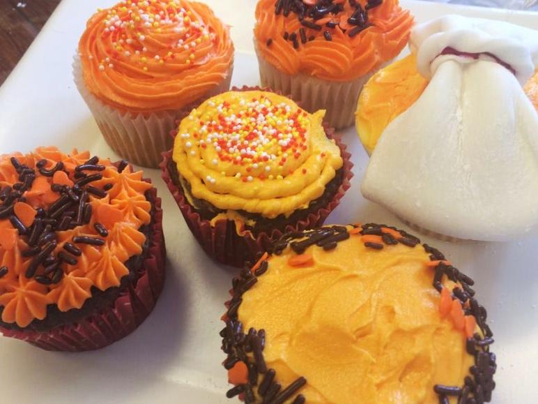 Pdx Skillshare Halloween cupcakes