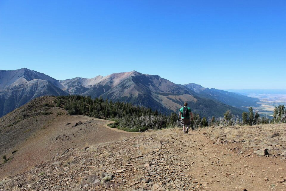 Wallowa Tram Ridge Trail