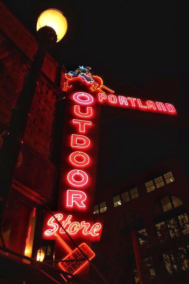 Best Neon Portland outdoor