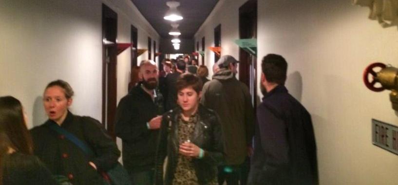 Content2015 hallway
