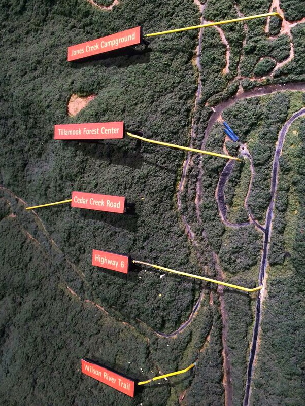 Wilson River map